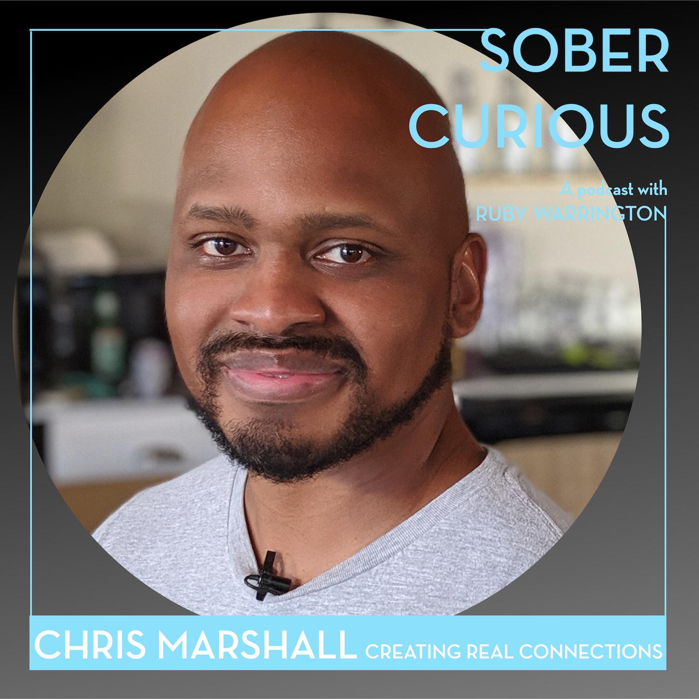 Chris Marshall Sans Bar Sober Curious podcast Ruby Warrington